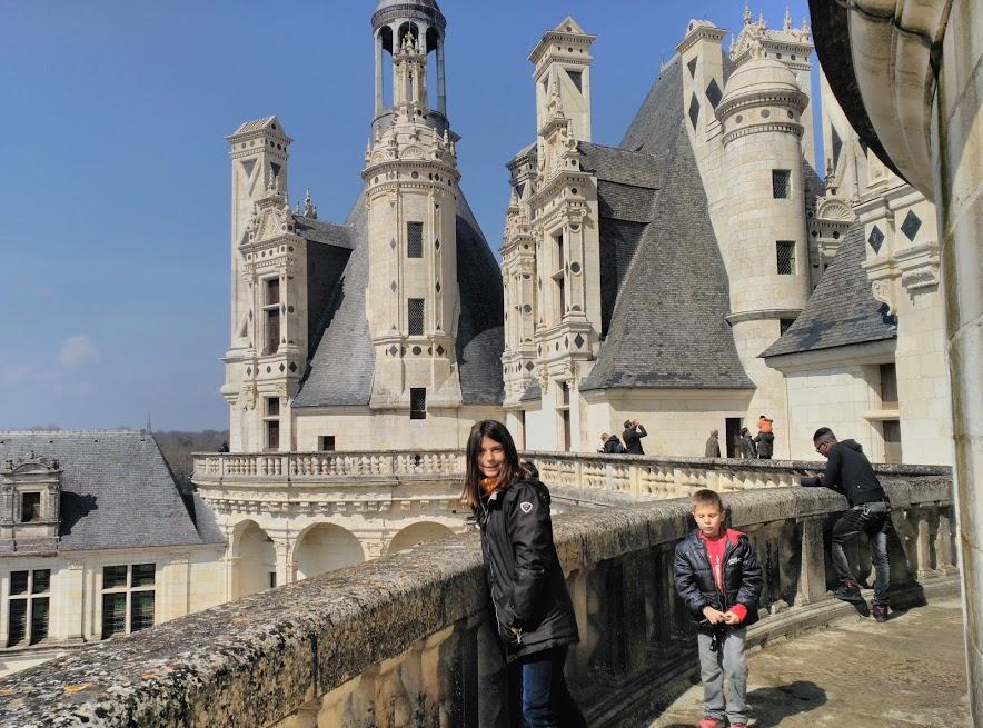 terrazas -torres - niños - castillo