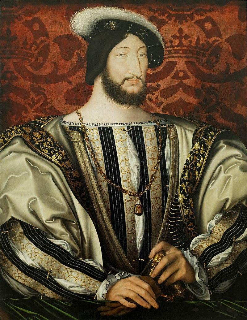 francisco I - rey - pintura - louvre