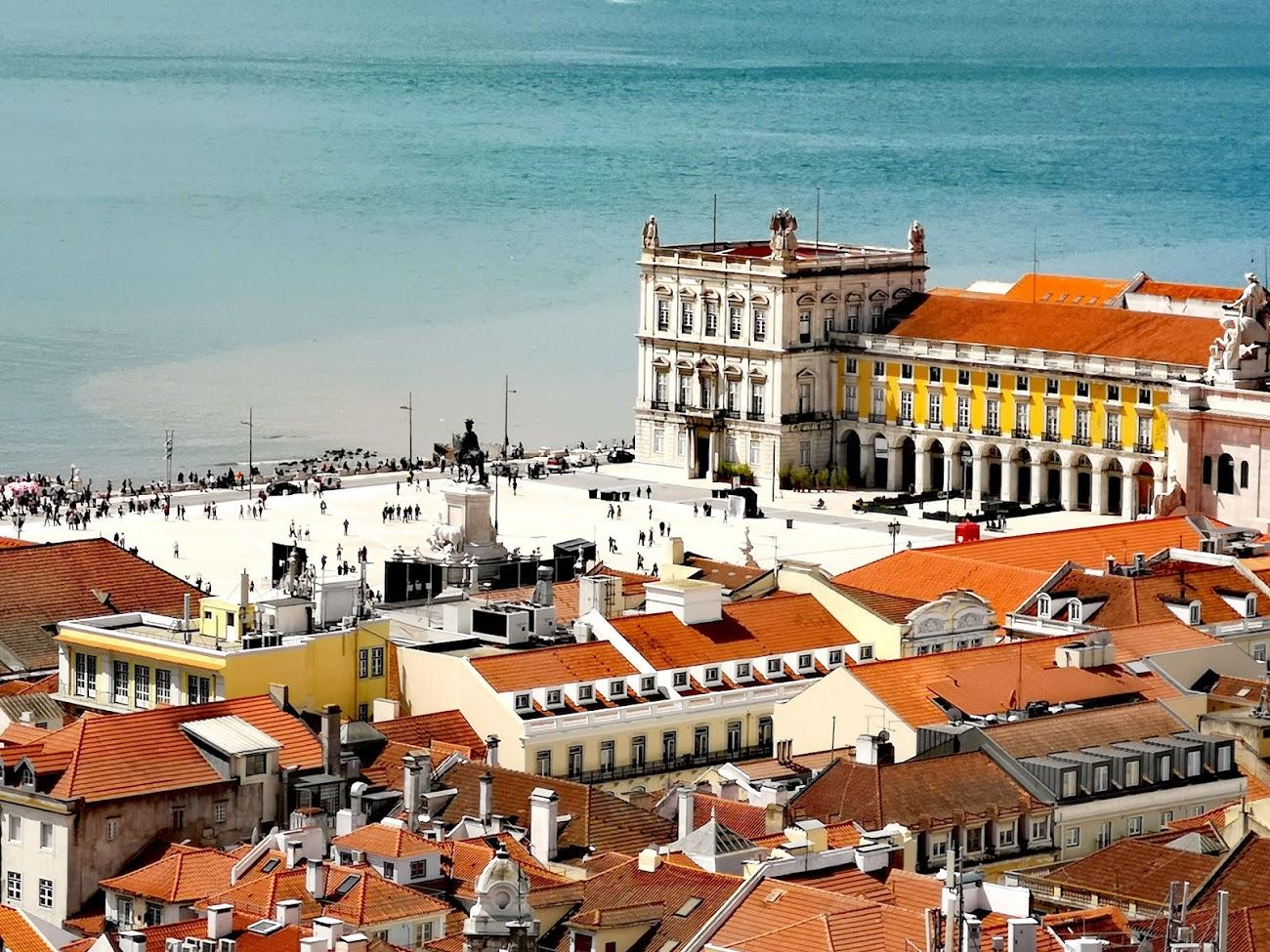 lisboa - mar - puerto - palacio
