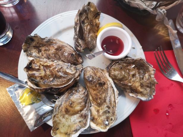 Ostras - bretaña - Saint Malo