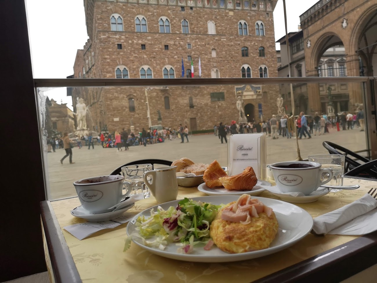 restaurante - almuerzo - florencia - cafe - plaza
