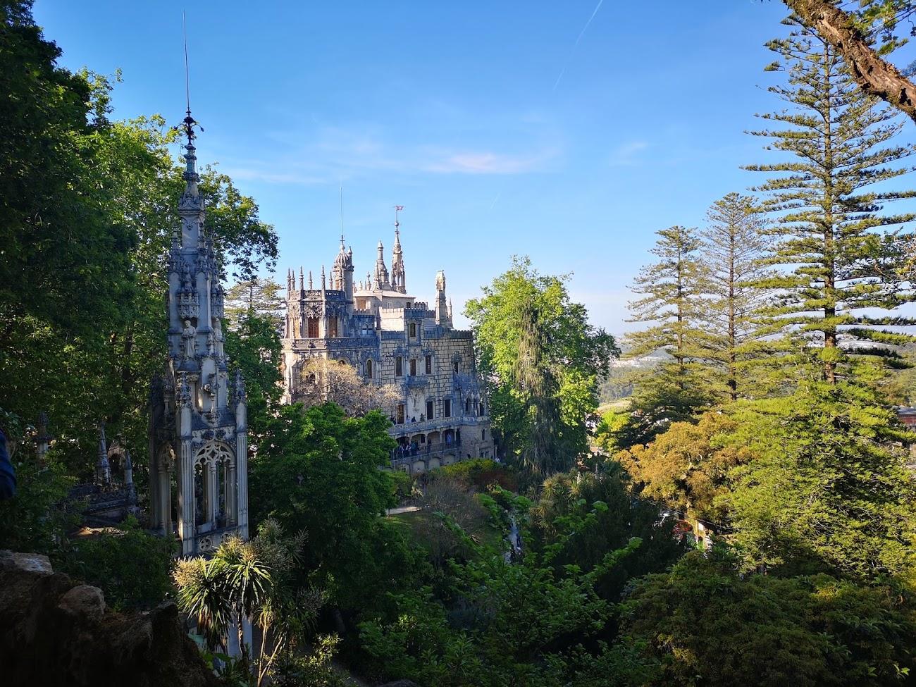 Sintra - palacio - bosque