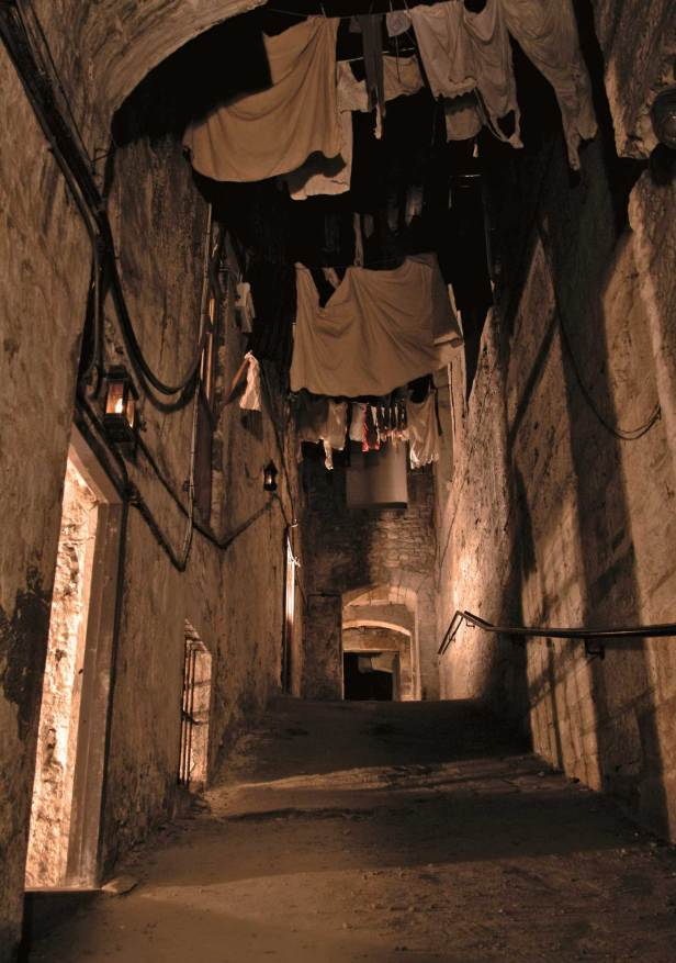 pasadizo - subterraneo - escocia - callejón
