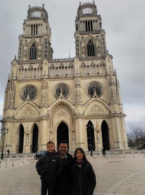 catedral - orleans - familia - rosetones - torres