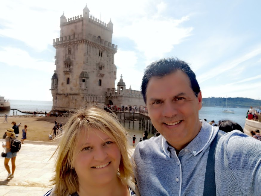 lisboa - torre - pareja