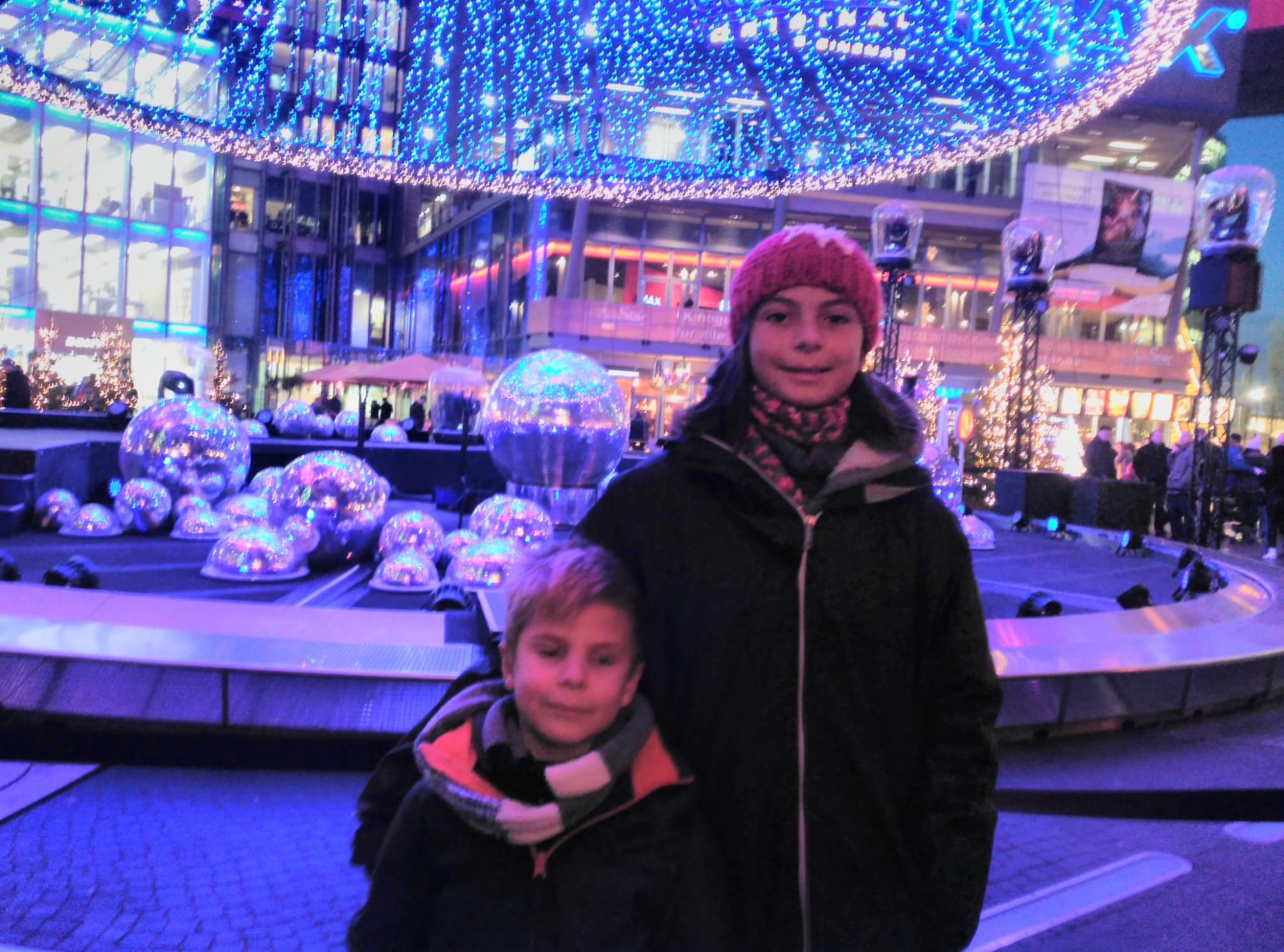 sony center - berlín - navidad - niños
