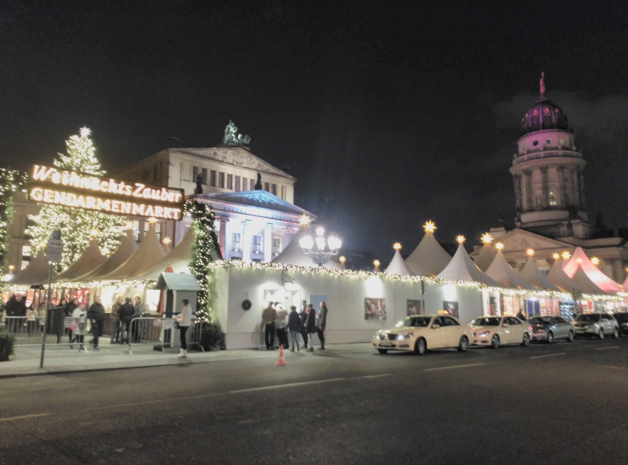 gendarmentmarkt - berlín - mercadillos - navidad
