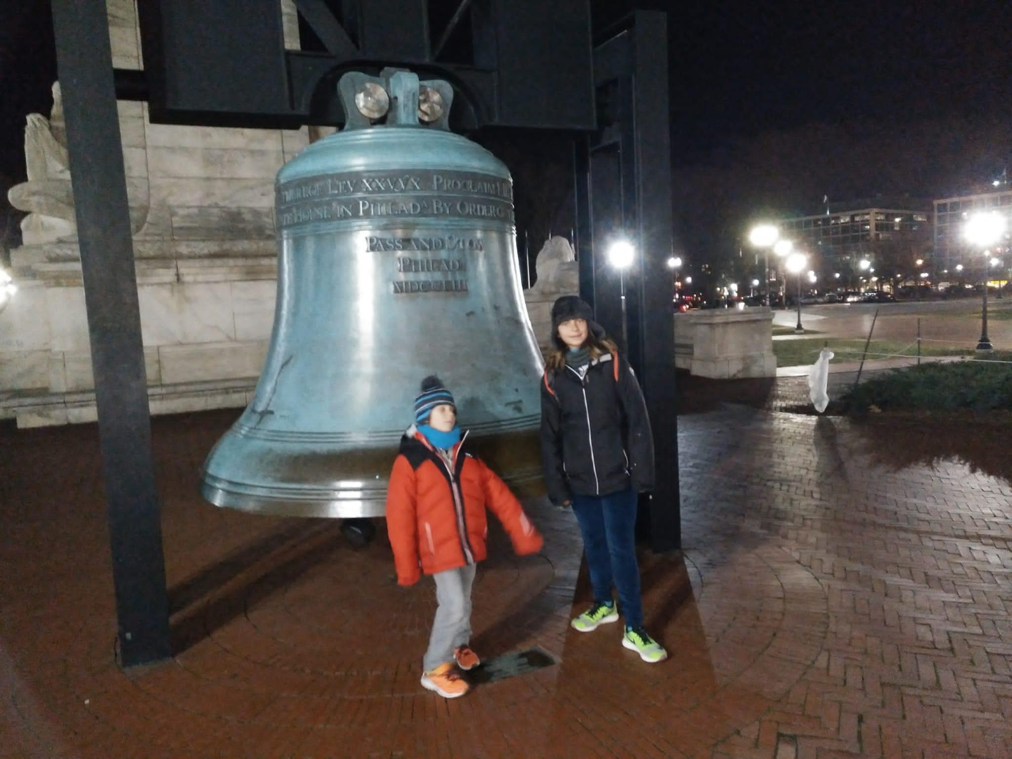liberty Bell - campana - libertad - niños