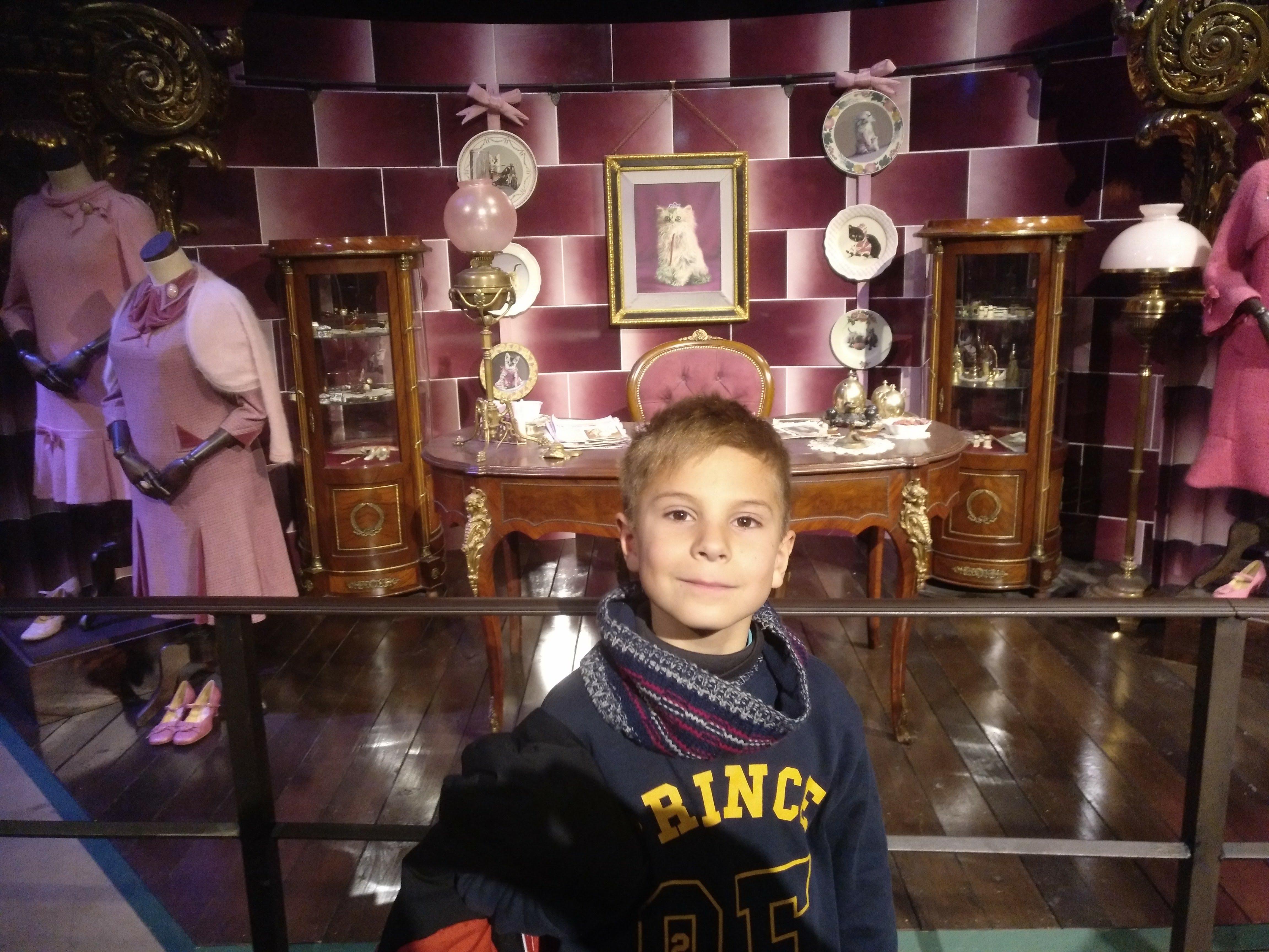Harry Potter Studios - niño - vestidos - mesa