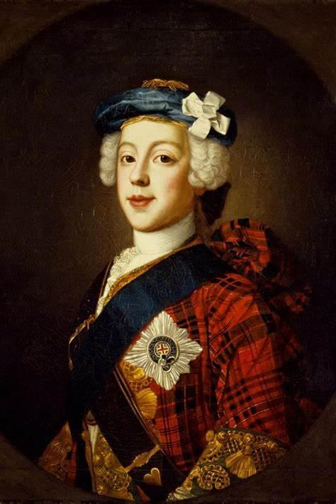 retrato - Bonnie Prince Charlie