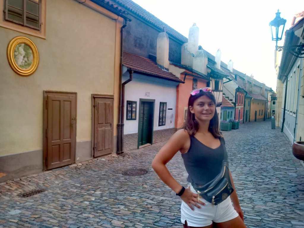callejón de oro - Praga