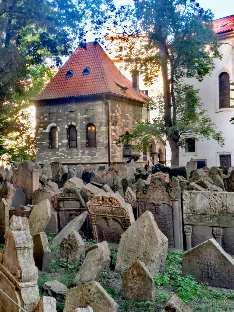 Cementerio judío - praga - lápidas