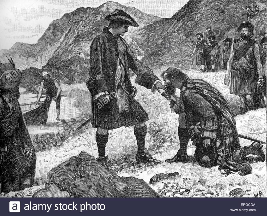 desembarco - escocia - clanes - principe