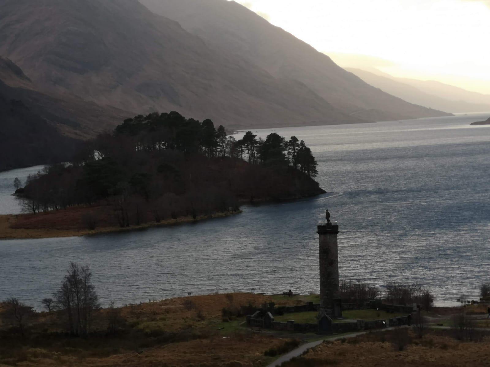 Lago Sheil - Escocia