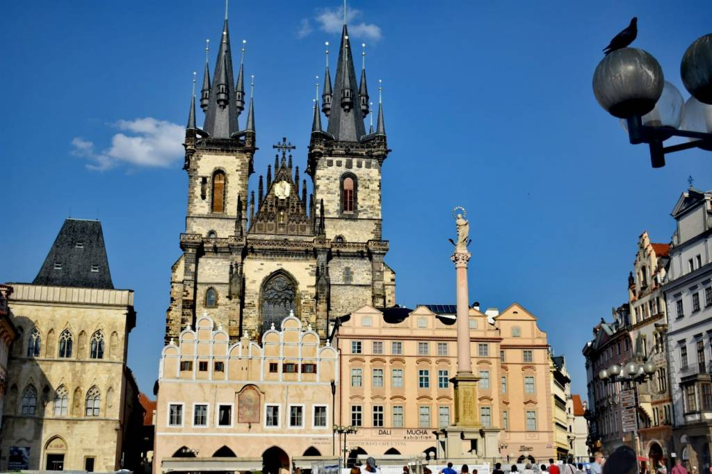 plaza vieja - Praga