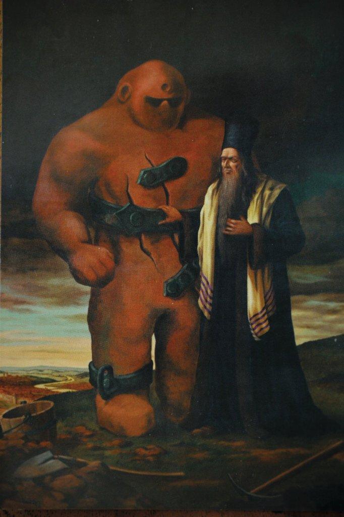 rabino - golem - praga