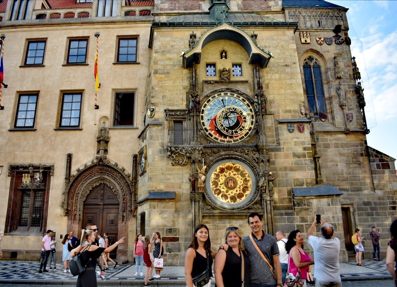 reloj astronómico - Praga - Chequia