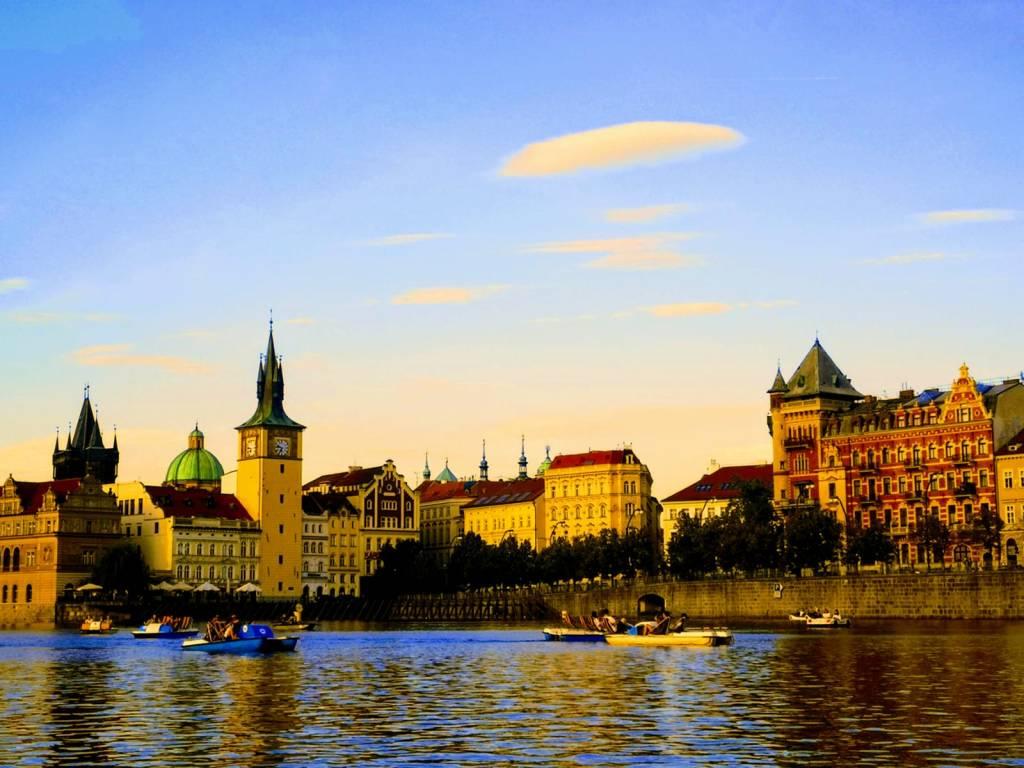 Praga - panorámica de la ciudad